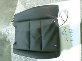 Nissan Maxima Left Upper Seat Cover Black Leather 06-08 No Miles Factory Oem New - $99.00