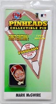 1999 PinHeads / MLB - Mark McGwire Collectible Pin - 1st Edition - Cardi... - $7.99