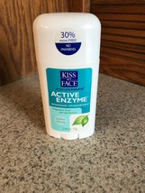 Kiss My Face Active Enzyme Fragrance Free Deodorant 2.48 Oz - $12.86