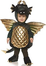 Underwraps Kid's Toddler's Plush Dragon Belly Babies Costume - Green Chi... - £68.62 GBP