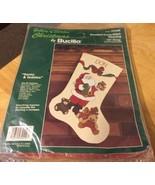 Bucilla Santa & Teddies Counted Cross-Stitch Kit - $16.36