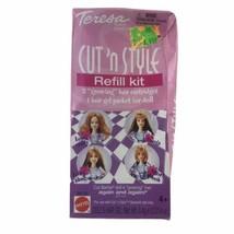 Mattel 2002 Teresa Cut N' Style Refill Kit Hair Cartridges Hair Gel Packet Dents - $11.26