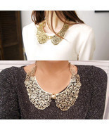 Cool Stylish Vintage Retro Bronze Hollow Foldab... - $2.51