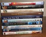 CHRISTMAS HOLIDAY DVD Lot of 10 Polar Express MIRACLE 34TH ST Silver Bells CAROL
