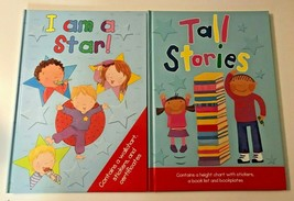Lot of 2 Children Hardcover Books TALL STORIES & I AM A STAR (Stickers, ... - $27.99