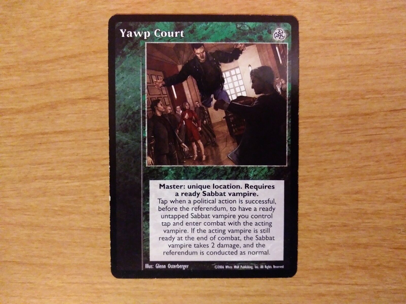 Yawp Court (VTES- Third Edition)