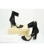 Michael Kors Daphne Women's Platform High Heels Black Suede Sandals US 7... - $154.09