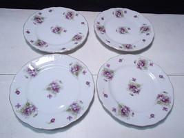 4 Vintage Fine China Side Plates ~  Registered U.S.A. ~ Celebrate Japan ... - $13.99