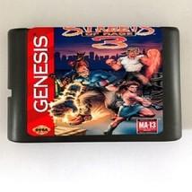 Streets Of Rage 3 MD Console Game Cartridge Card 16bit Sega Mega Drive G... - $12.99