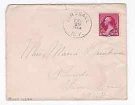BIRDSALL NEW YORK DECEMBER 29 1883 - $2.68