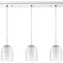 Realm 3-Light Linear Chandelier in Polished Chrome - $319.99