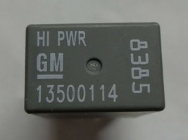 Usa Seller Gm Relay 13500114 8385 1 Year Warranty Tested Oem Free Shipping GM7 - $6.95