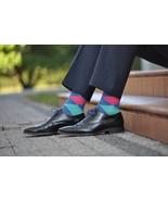 Blue pink diamonds Socks - $8.40