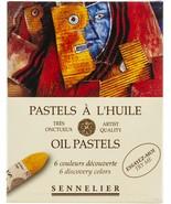 Sennelier Oil Pastels Set 6/pkg-discovery - $34.39