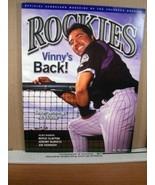 Rockies Scorecard Magazine Vol 12 No 1 April 2004 Vinny Castilla - $8.99