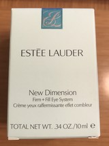 ESTEE LAUDER New Dimension Firm + Fill Eye Serum~ NIB - $21.00