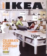 IKEA 2007 home furnishings store catalog magazine - $8.00