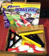 Wham-O Frisbee Bowling Set w/ Original Box 1998 - $85.99