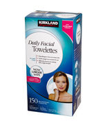 Kirkland  Daily Facial Cleansing Towelettes - New -Facial Cleanser Wipes... - $54.99