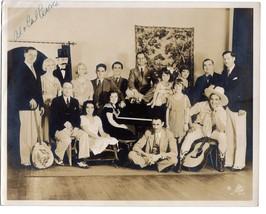 Al Pearce & Happy go Lucky gang, 8 X 10 Signed Original photograph names... - $14.26