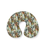 Haunted Mansion Stretch Paintings Travel Neck Pillow - $29.31 CAD+