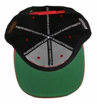 Dissizit Straight Crack Yupoong Wool Blend O/S Cap Black Red Embroidered Hat NWT image 15