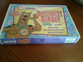 SCOOBY-DOO DISCOVERY BOX SET 2007 FIRST EDITION NEW IN BOX CRAYONS GAME ... - $18.69