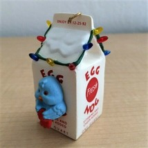 Egg Nog Nest - 1992 Hallmark Collector's Series Keepsake Ornament  - $4.95