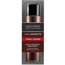 John Frieda Brilliant Brunette Treatment Visibly Deeper 4 Ounce 118ml 2 Pack