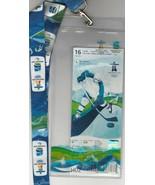 2010 Vancouver Olympics LanyardI w/ Plastic Pouch ~ Ice Hockey Event Feb... - $34.65