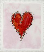 Ich liebe Dich - Mageritenherz heart cross stitch chart SDG Designs - $11.70