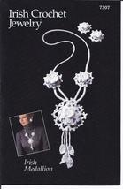 Annie's~Irish Medallion & Earrings~Irish Crochet Jewelry Pattern~OOP~VHTF - $17.99