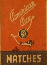American Ace Match Box - $8.55
