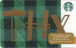 Starbucks 2016 THX Collectible Gift Card New No Value - $3.99