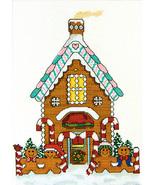 Gingerbread House cross stitch chart SDG Designs - $7.20