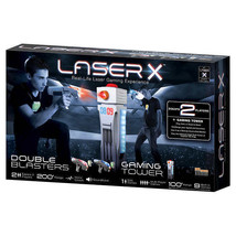 laser x real life laser gaming experience with gaming tower and double b... - $79.36
