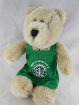 2001 Starbucks Coffee Bearista Bear Plush 15th Edition 30th Anniversary ... - $9.64