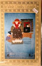 Pattern 198 Sewnya's Sister Sadie Applique for Jacket Back or Tote - $5.00
