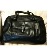 Coach Charlie Convertible Crossbody Large Satchel Black Leather  - $113.85