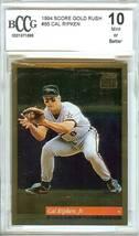 1994 score gold rush cal ripken jr beckett graded 10 psa? baseball card ... - $39.99