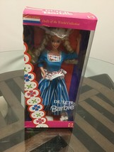 DUTCH Dolls Of The World BARBIE Collector Edition 1993 Mattel #11104 - $14.84