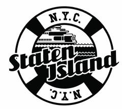 Staten Island Ferry Sticker R2085 - $1.45+