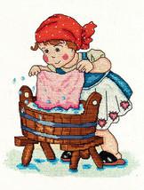 Little Darlings: Augusta Darling cross stitch chart SDG Designs - $7.20