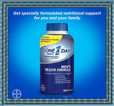 One A Day Men's Multivitamin 300 Tablets BAYER Support Immune Health - $28.04