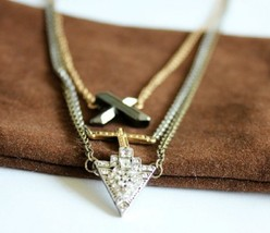 Cool Three Layers Multi-element Necklace - $14.99