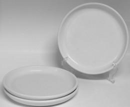 "3 Crate & Barrel CULINARY ARTS  8 1/2"" Salad Lunch Plates - $22.84"