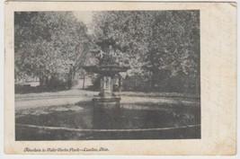 Canton Ohio OH Postcard 1910 Fountain Water Works Park New Berlin Hartville - $2.99