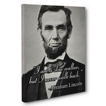 Abraham Lincoln Motivation Quote Canvas Wall Art - $29.21