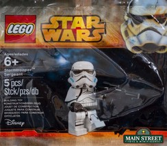 LEGO Star Wars Stormtrooper Sergeant 5002938 Polybag Building Toys Minifig - $17.98