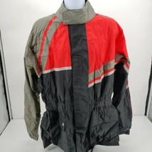 Tour Master Elite Rainsuit Jacket - Black/Red/Grey -  XXL - $56.06
